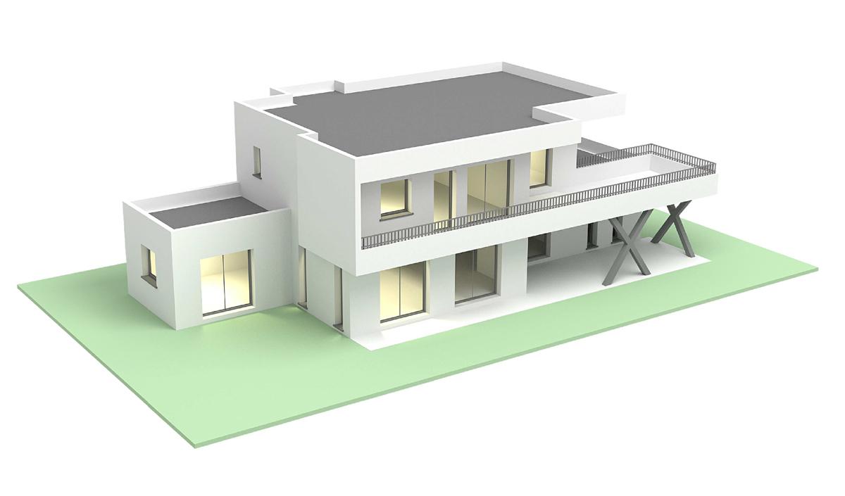 Suntree Villa Concept, Perspective