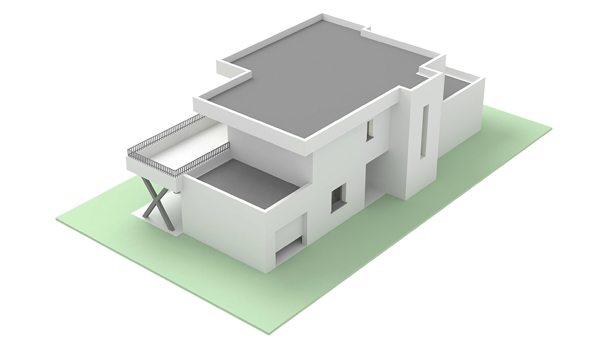 Suntree Villa Concept 4, Perspective
