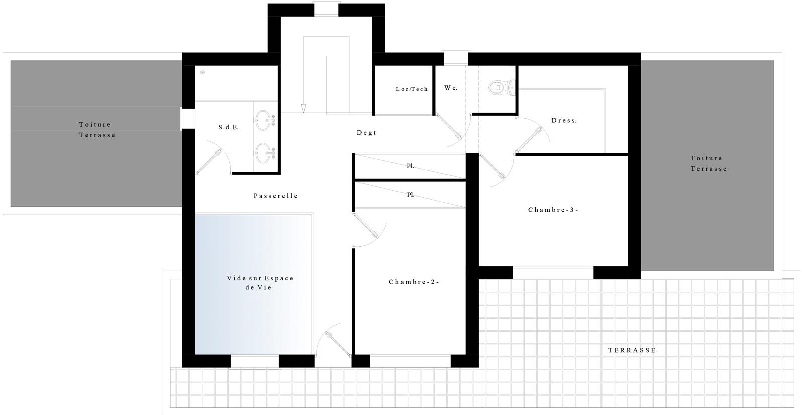Suntree Villa Concept 4 Plan étage
