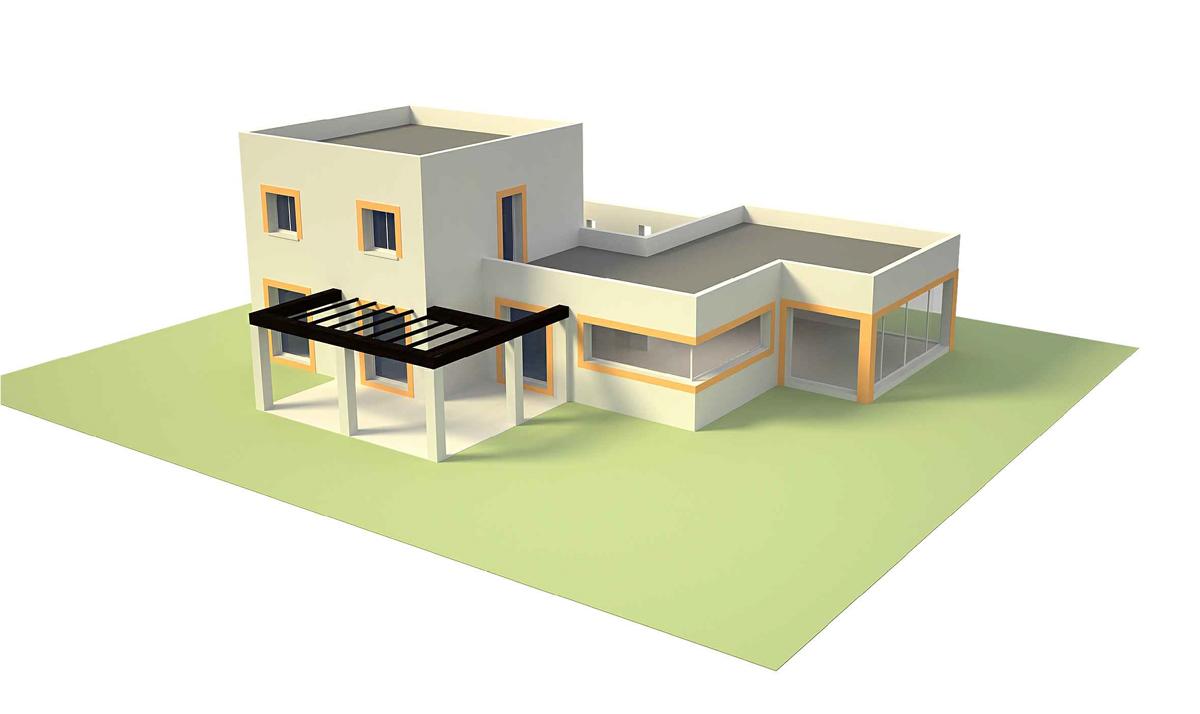 Suntree Villa Concept 5 Perspective