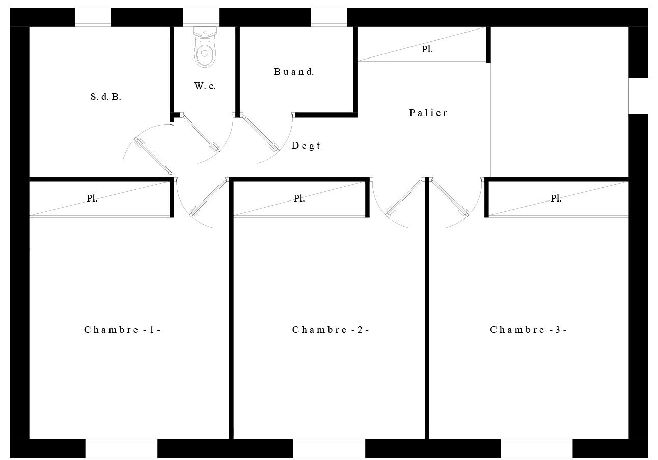 Suntree Villa Concept 6 Plan étage