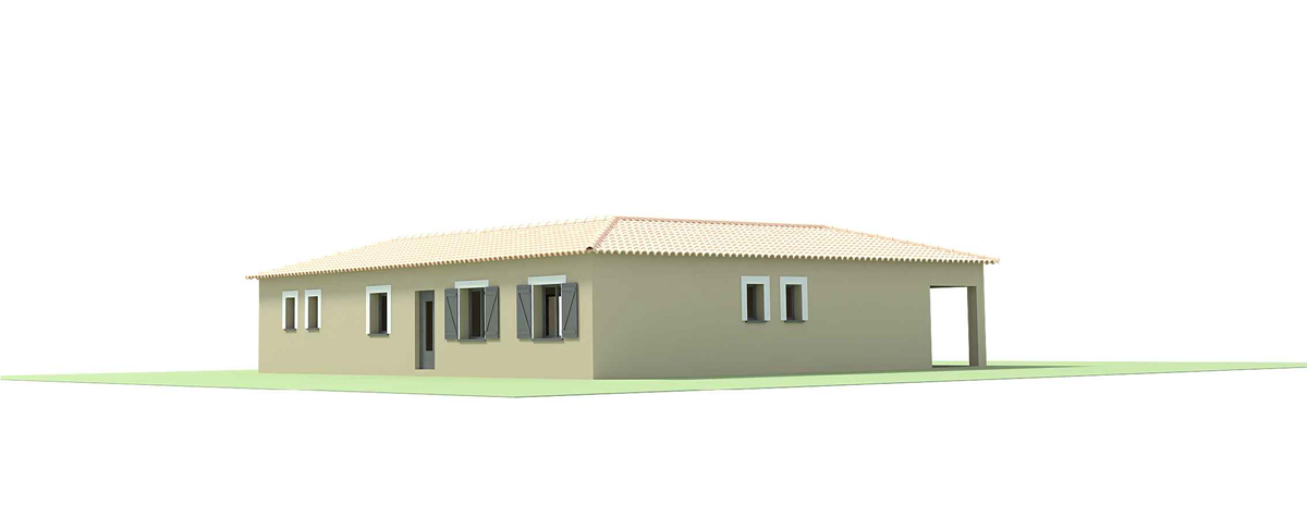 Suntree Villa Concept 8 Perspective